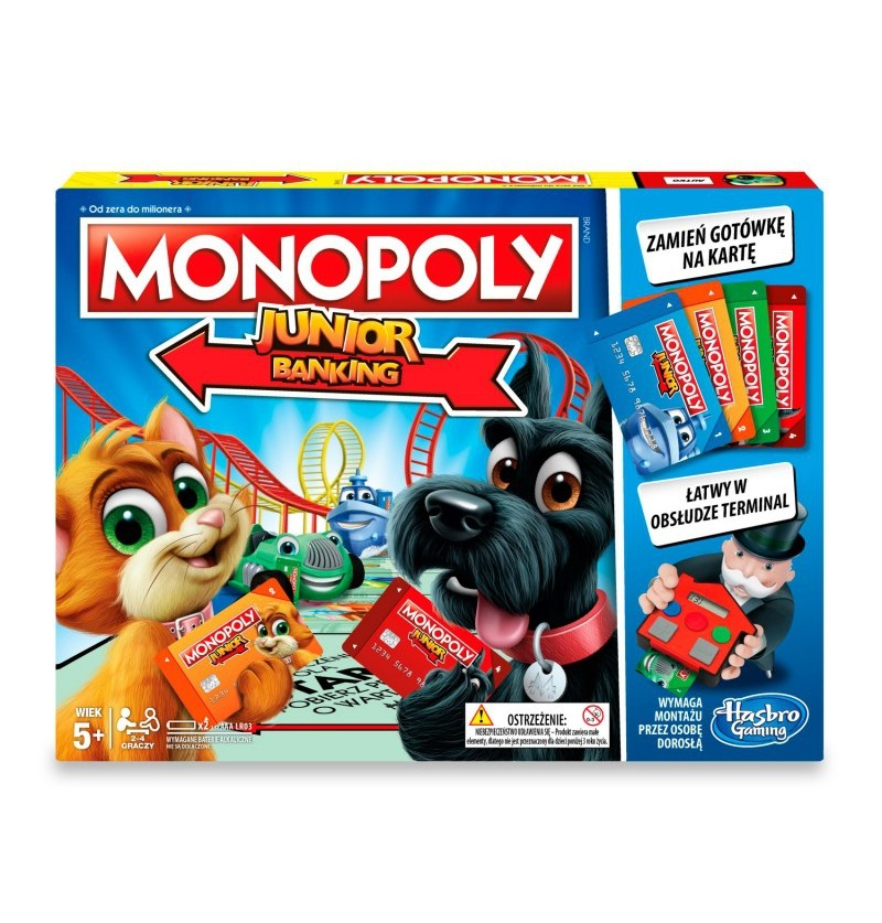 Gra C1842 Monopoly Junior Electronic Banking