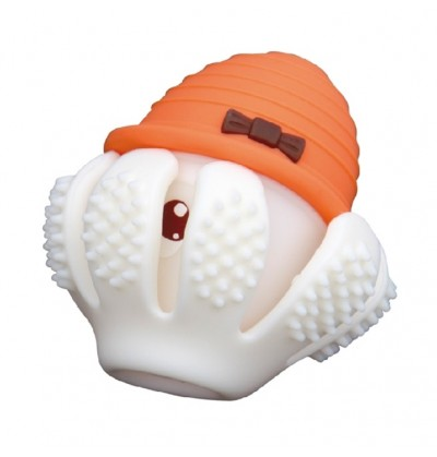 Mombella P8034-1 Gryzak Zabawka Ośmiornica Orange