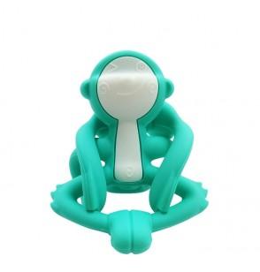 Mombella P8081-1 Gryzak Zabawka Małpka Blue