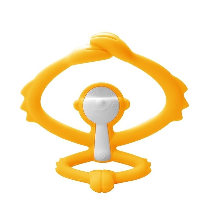 Mombella P8081-3 Gryzak Zabawka Małpka Yellow