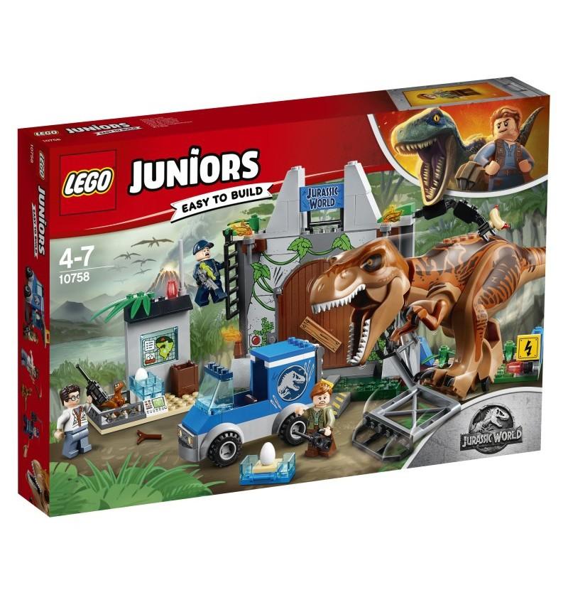 Lego Juniors 10758 T. rex na wolności