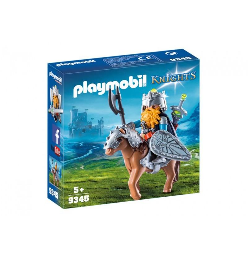 Playmobil 9345 Krasnolud z wojowniczym kucykiem