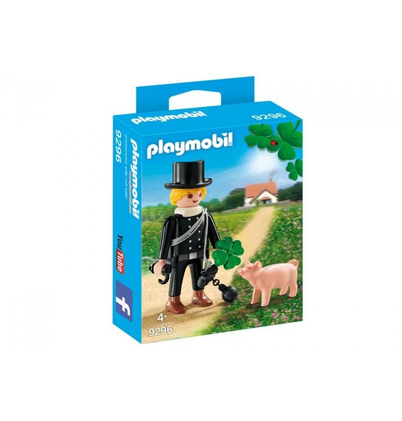 Playmobil 9296 Kominiarz z czterolistną koniczynką