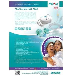 Inhalator pneumatyczno-tłokowy MesMed MM-501 AGAT