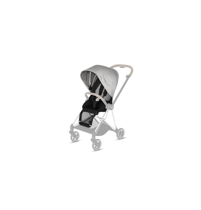 Wózek Cybex Mios 2.0 tapicerka do siedziska Koi Crystallized