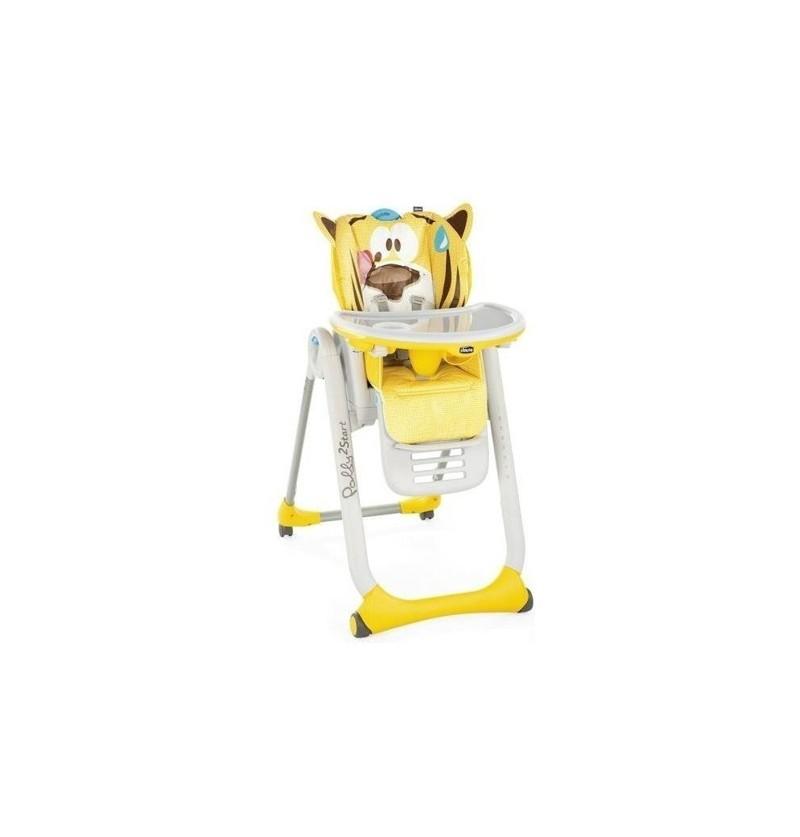 Chicco Polly 2 Start 4 Koła Krzesełko Do Karmienia Pacefull Jungle