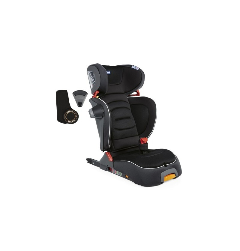 Chicco Fold&ampGo I-Size Jet Black Fotel Samochodowy 15-36kg