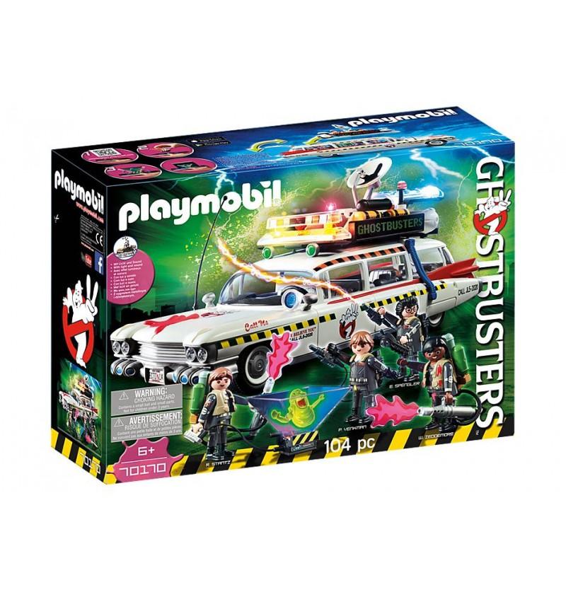 Playmobil- 70170 Ghostbuster Ecto-1A