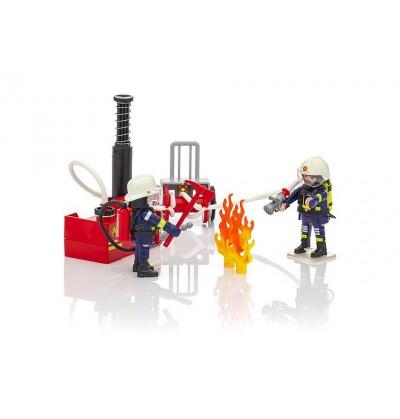 Playmobil - 9468 Strażacy z Gaśnicą
