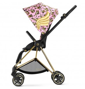 Cybex Mios Głęboko-Spacerowy Cherubs By Jeremy Scott Pink