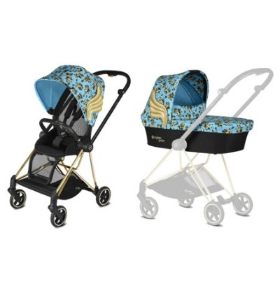 Cybex Mios Głęboko-Spacerowy Cherubs By Jeremy Scott Blue