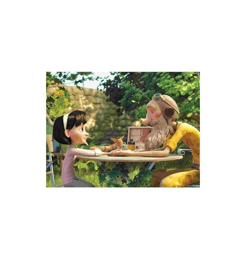 Hape- 824780 Puzzle Mały Książę Przywiązanie