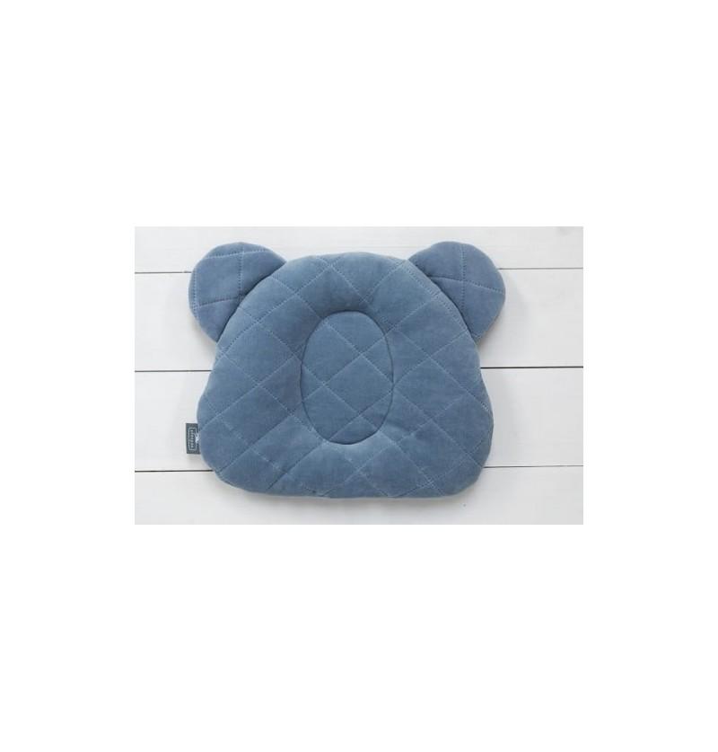 Sleepee Misiowa Poduszka Z Wgłębieniem Denim Blue