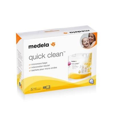 Medela Torebki Quick Clean do dezynfekcji w kuchence mikrofalowej