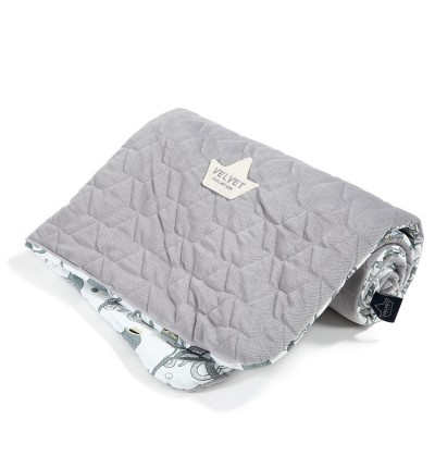 La Millou Narzutka Przedszkolaka Sea Beauties Grey Velvet Collection
