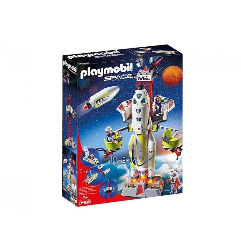 Playmobil - 9488 Rakieta kosmiczna z rampą startową