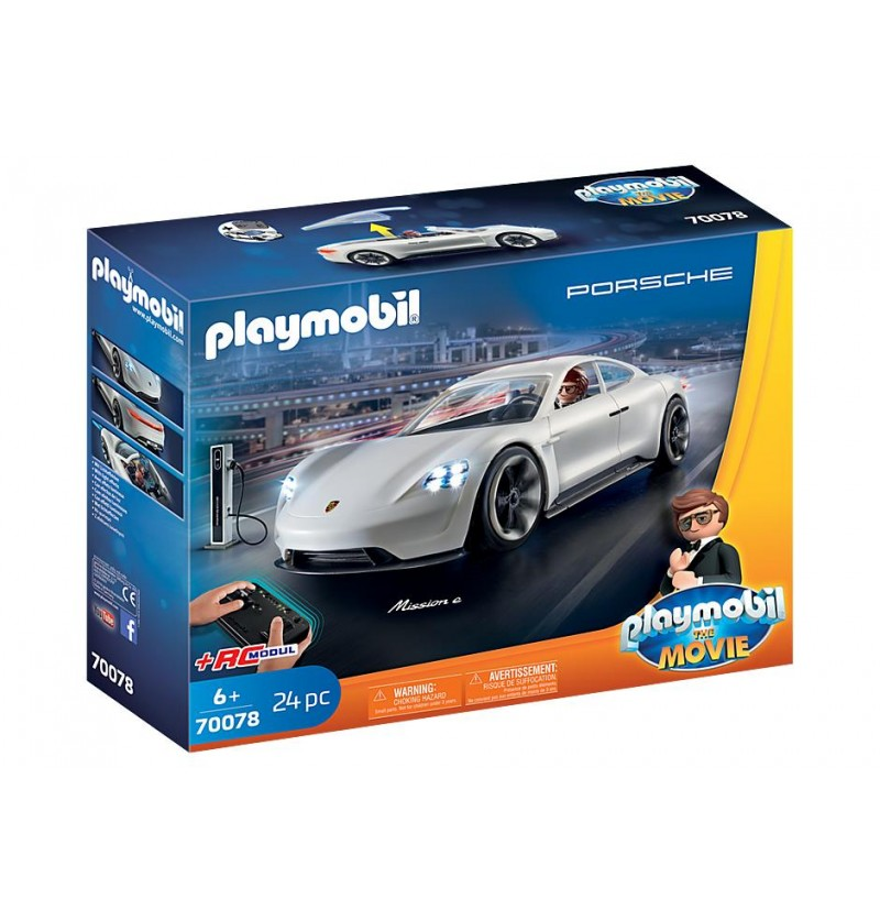Playmobil - 70078 THE MOVIE Porsche Mission E Rex'a Dasher'a