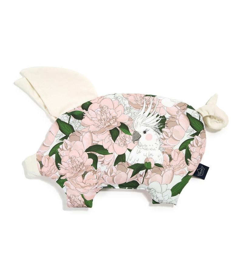 La Millou  Velvet Collection - Podusia Sleepe Pig - Lady Peony Rafaello by Małgorzata Rozenek