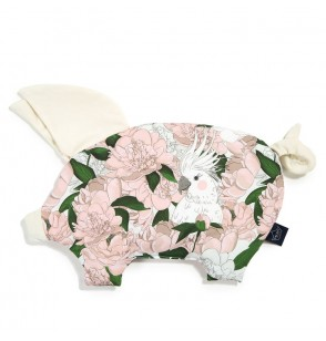 La Millou  Velvet Collection - Podusia Sleepe Pig - Lady Peony Rafaello by Małgorzata Rozenek