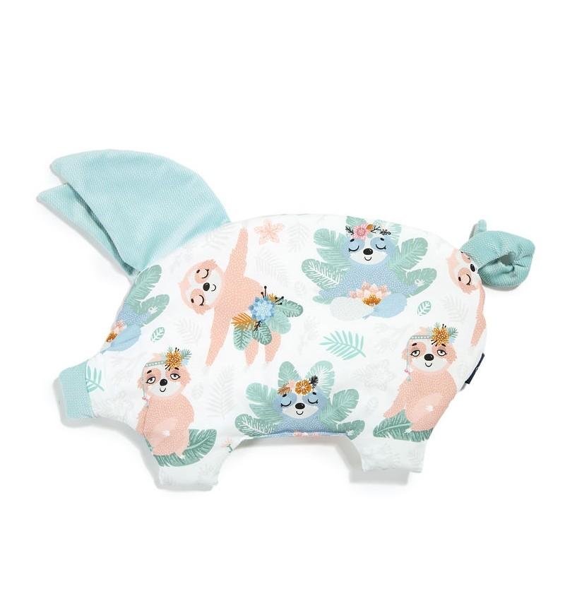 La Millou  Velvet Collection - Podusia Sleepe Pig - Yoga Candy Sloths Audrey Mint