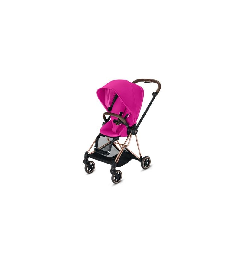 Cybex Mios 2.0 Fancy Pink Wózek Spacerowy