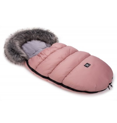 Śpiworek Cottonmoose Moose 422 Pink-Grey