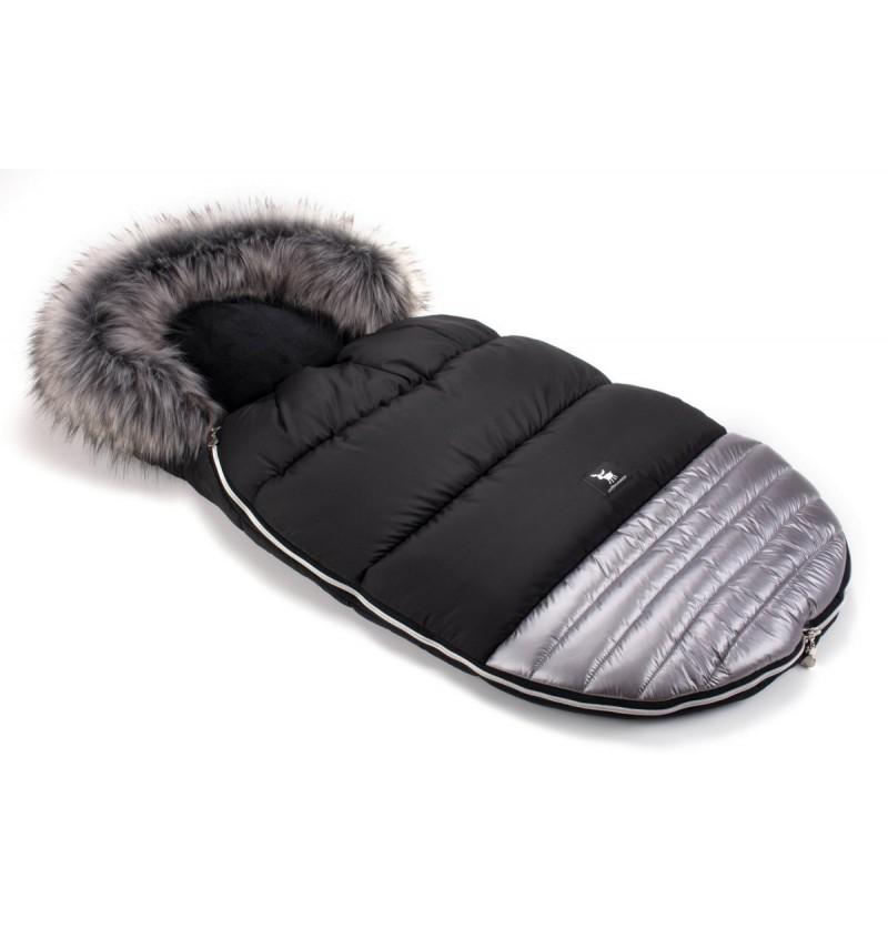 Śpiworek Cottonmoose Moose 651 Silver-Black