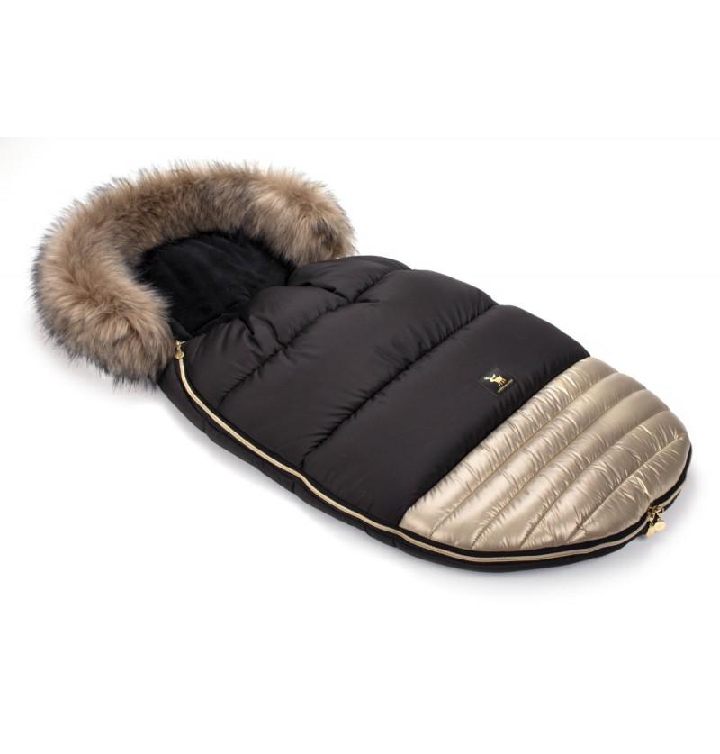 Śpiworek Cottonmoose Moose 651 Gold-Black