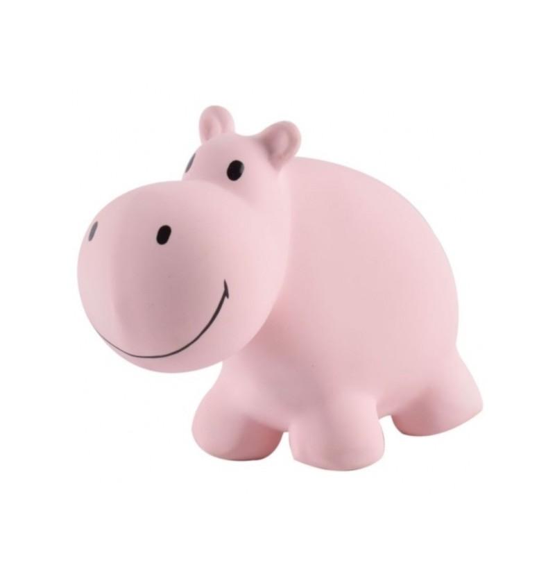 TIKIRI- 96003 Gryzak z Grzechotką Hipopotam