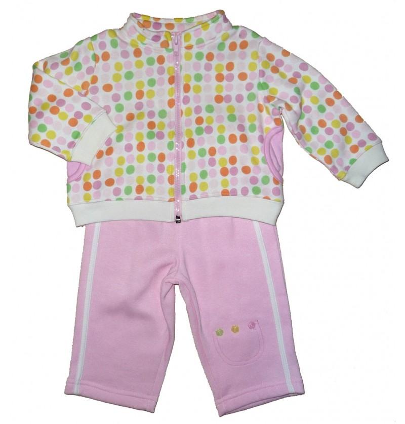 Komplet Bluza na zamek Bluzka Spodnie