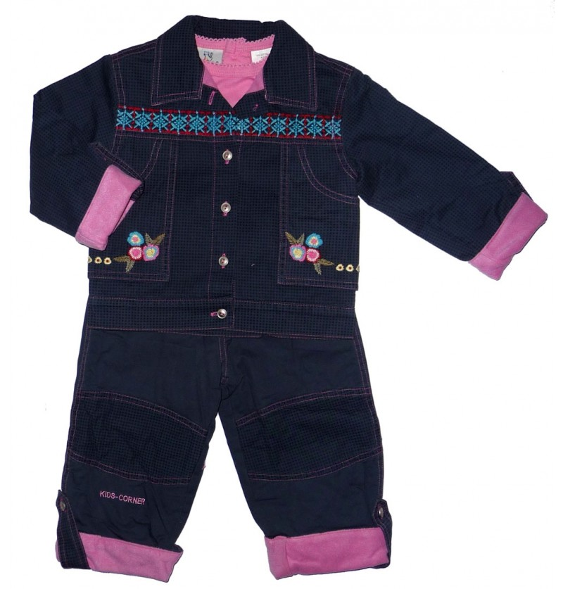 Komplet Kurtka Bluzka Spodnie