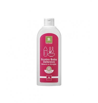 Quaranta Settimane Ecobio Płyn do Mycia Butelek Smoczków i Naczyń 500 ml