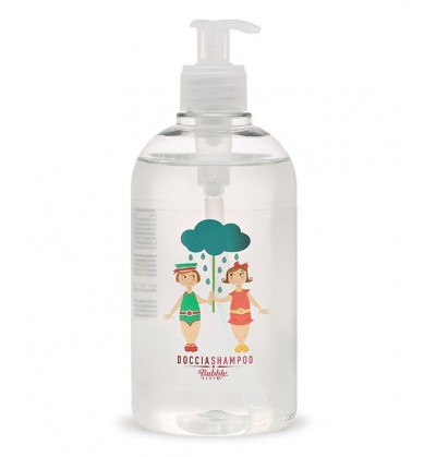Bubble&ampCO Organiczny Płyn do Mycia Ciała i Włosów dla Dzieci 500 ml