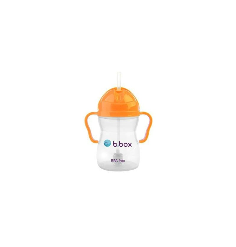 Innowacyjny kubek niekapek b.box neon pomarańczowy edycja limitowana