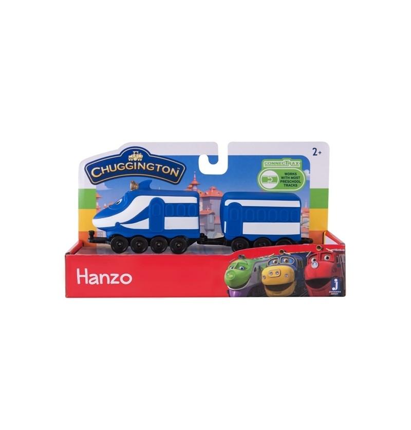 Stacyjkowo Pociąg z wagonikiem Hanzo 38501