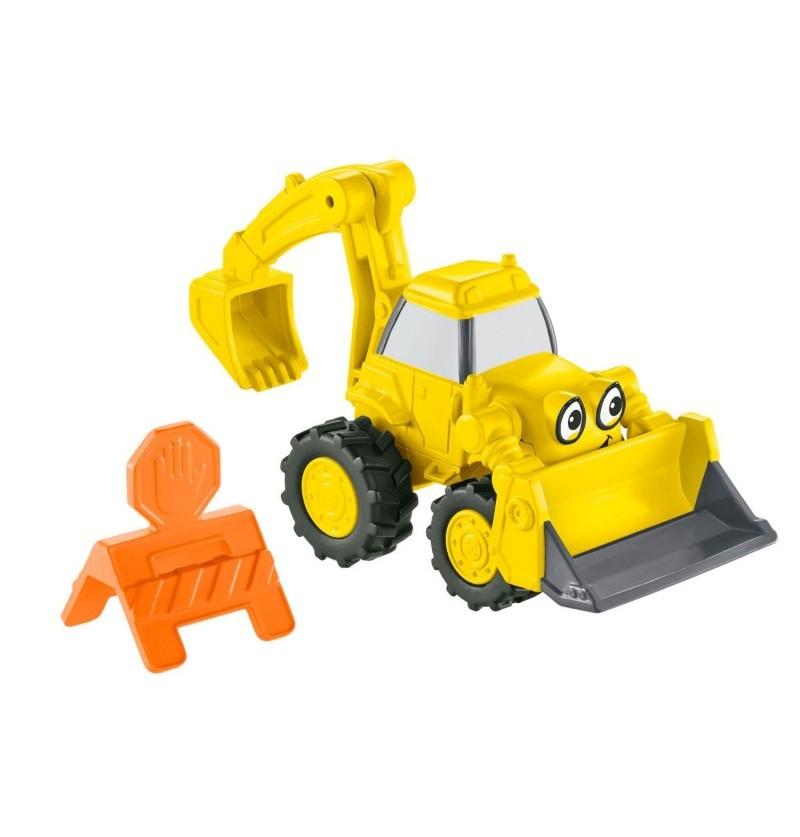 Fisher-Price Bob Budowniczy Małe pojazdy Koparka Scoop CJG92