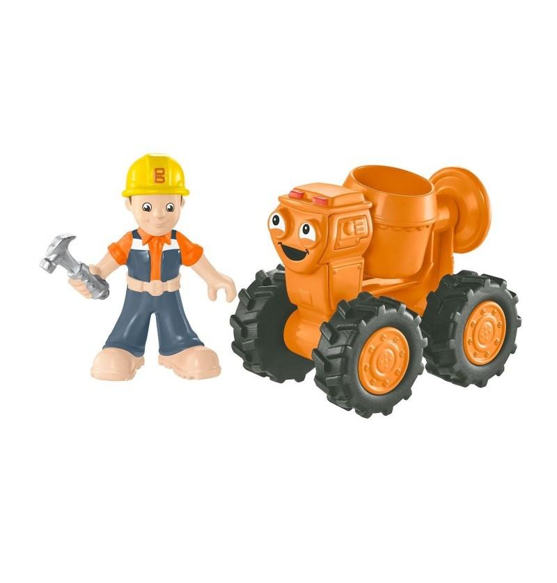 Fisher-Price Bob Budowniczy Małe pojazdy Betoniarka Dizzy CJG94
