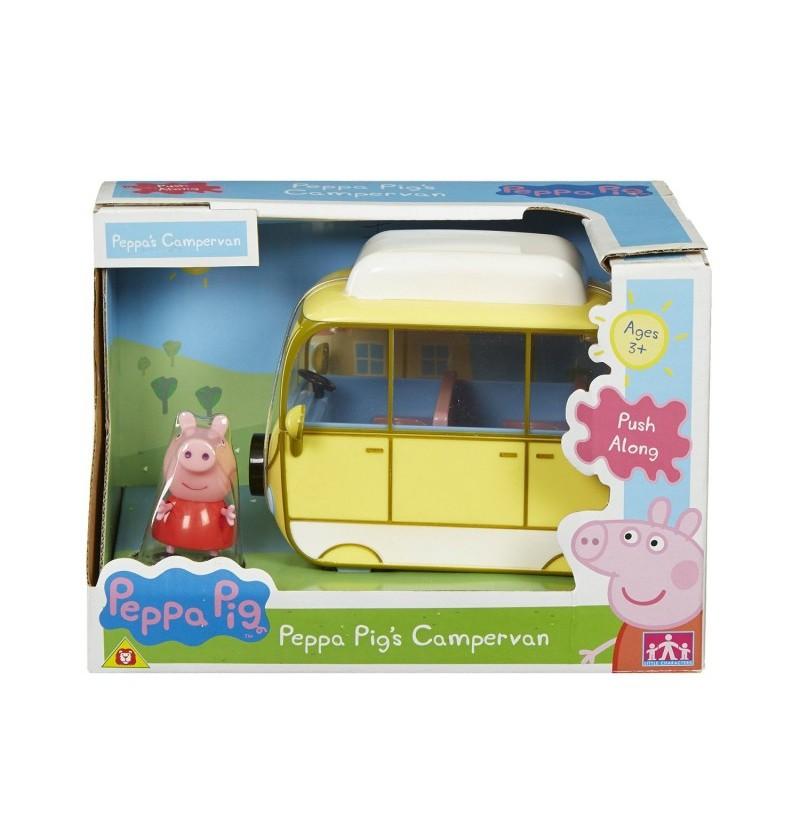 Świnka Peppa Kamper Peppy z figurką 05325