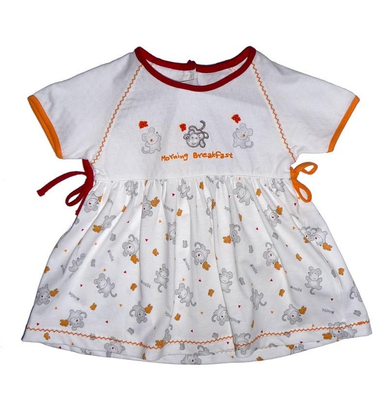 Letnia Sukienka Białe Myszki - 2 kolory
