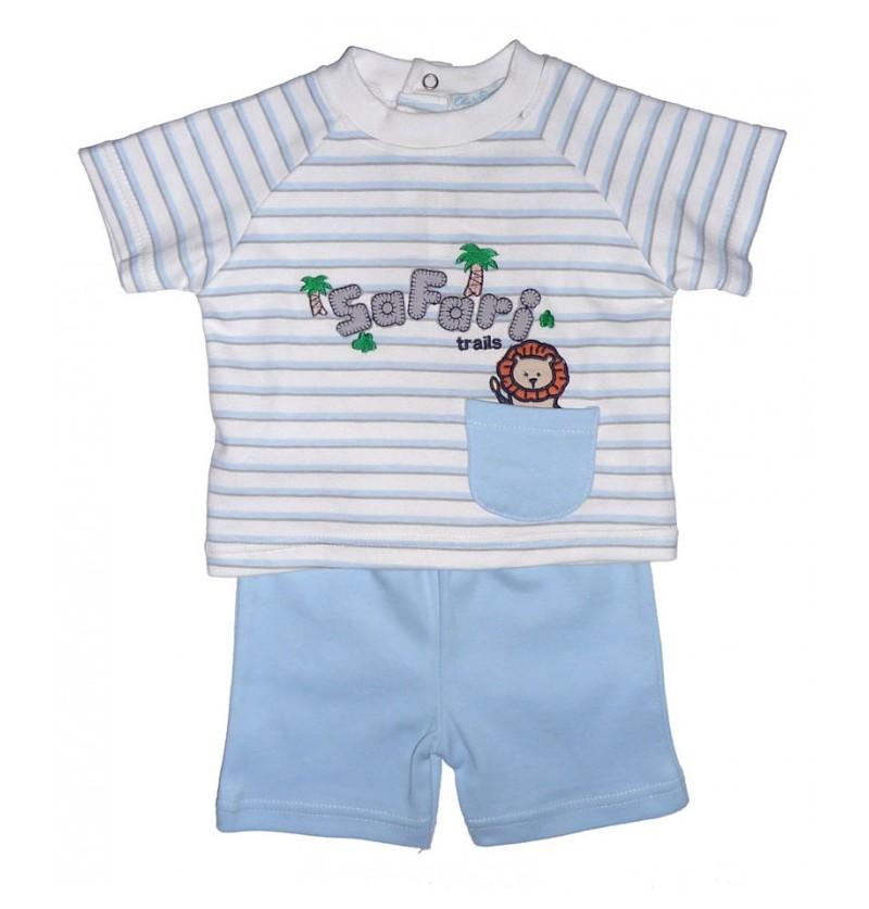 Komplet dla chłopca Koszulka  Spodenki - 2 kolory