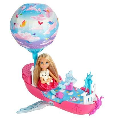 Barbie Magiczna łódka DWP59