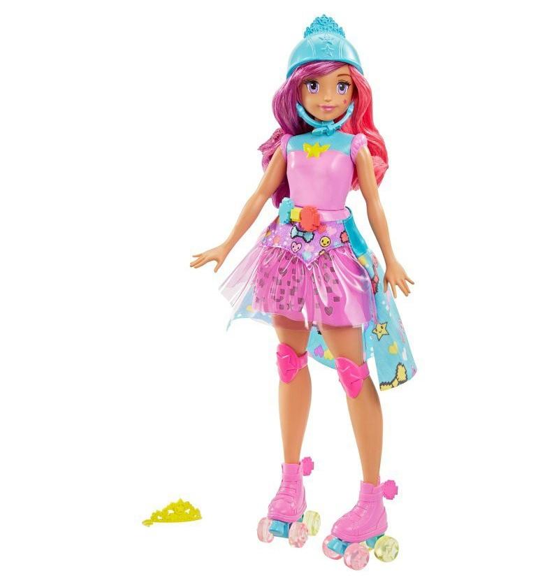 Barbie księżniczka z grą DTW00