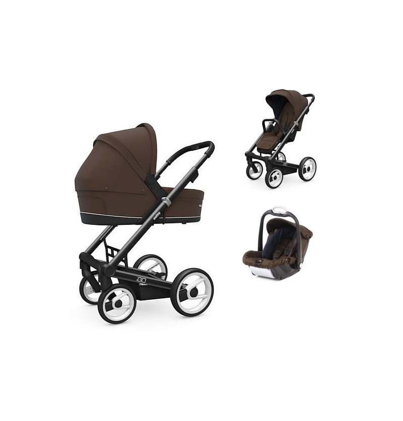 Wózek 3w1 Mutsy Igo Comfort + fotelik Mutsy Safe2go