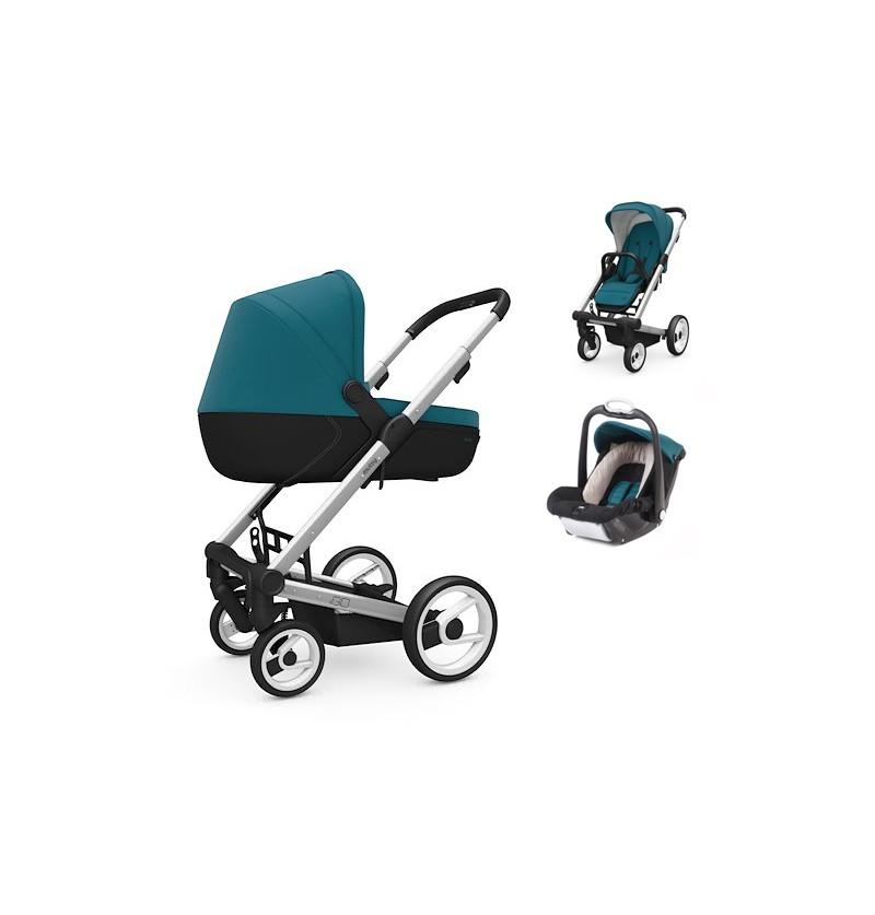 Wózek 3w1 Mutsy Igo Lite + Mutsy Safe2go