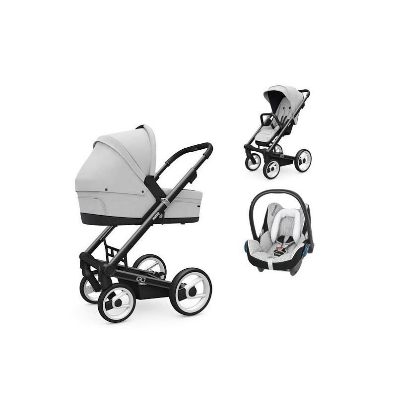 Wózek 3w1 Mutsy Igo Comfort + fotelik Maxi-Cosi CabrioFix
