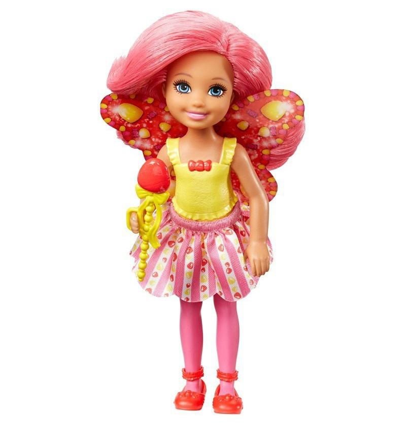 Barbie Chelsea Wróżka Galaretkowa DVM90