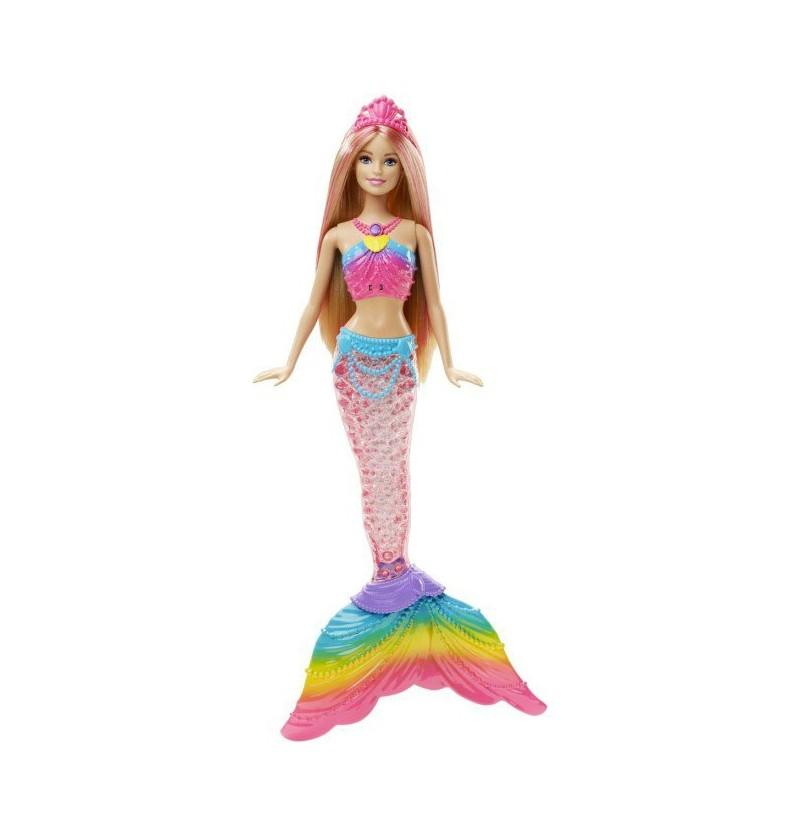 Barbie tęczowa syrenka DHC40
