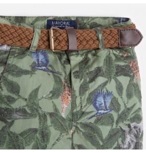 Krótkie spodnie z paskiem Mayoral 3239