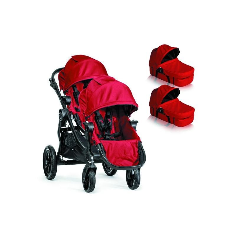 Wózek bliźniaczy Baby Jogger City Select