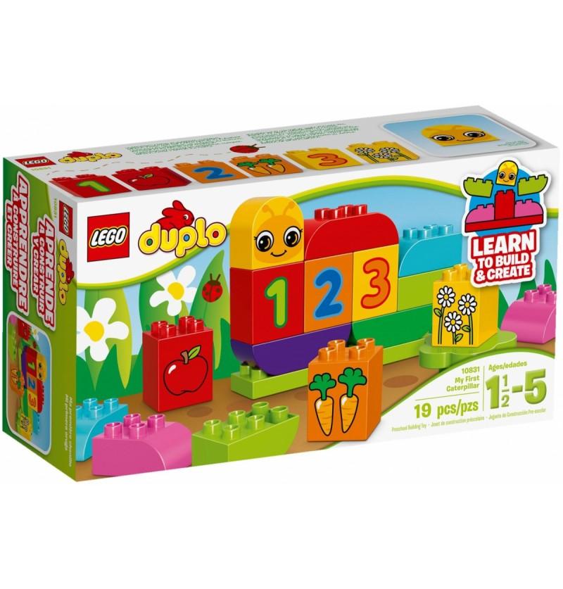 Klocki LEGO 10831 Moja Pierwsza Gąsieniczka